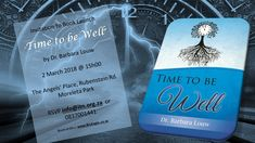 Time to be Well is a book by Dr Barbara Louw  to be launched on 2 March 2018. Time to celebrate. Come join me and get a book and a cup of coffee. https://lnkd.in/emKRz2b