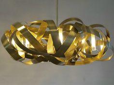 Steel chandelier MONTONE ROUND MONTONE Collection by Jacco Maris