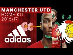 04ca1c446b8 Manchester United Launch 2016 17 Home Jersey – Soccer365 Manchester United  Home Kit