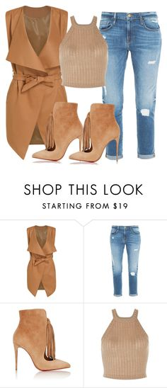 """""""Untitled #235"""" by samstyles001 on Polyvore featuring Frame Denim and Christian Louboutin"""