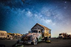 Rico Larroque at Salvation Mountain... #milkyway #milkywaychasers