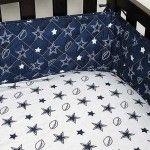 Dallas Cowboys Crib Set Blanket Warehouse
