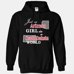 Design1 Just an Arizona Girl in #South Dakota world XMAS, Order HERE ==> https://www.sunfrog.com/States/Design1-Just-an-Arizona-Girl-in-South-Dakota-world-XMAS-2696-Black-Hoodie.html?6789, Please tag & share with your friends who would love it , #christmasgifts #renegadelife #jeepsafari  things to do in #south dakota, south dakota road trip, south dakota vacation #science #nature #sports #tattoos #technology #travel