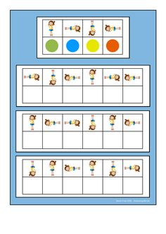 Board for the rotating girl visual perception game. Find the belonging tiles on… Montessori Activities, Brain Activities, Kindergarten Activities, Preschool Body Theme, Preschool Math, Visual Perception Activities, Teaching Shapes, Printable Preschool Worksheets, Free Games For Kids