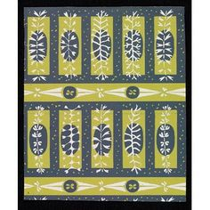 from designs made by my father for wallpapers or furnishing fabrics