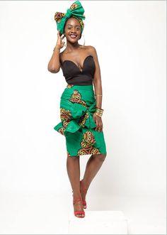 Obili Skirt por Grassfieldss en Etsy