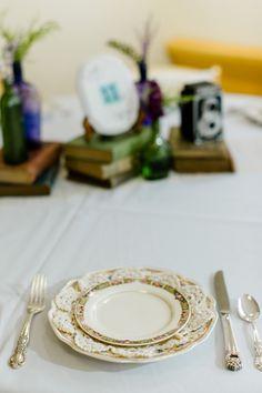 NotWedding Charlotte by Caroline Lima Photography                                                                  Vintage Dishes: Vintage Charlotte                             Design: Shay Brown Events
