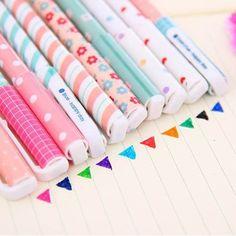 Multiple colours box of 12 pens (5,38€)