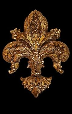 Large La Fleur Medallion/Tieback Drapery Hardware-Ornate: