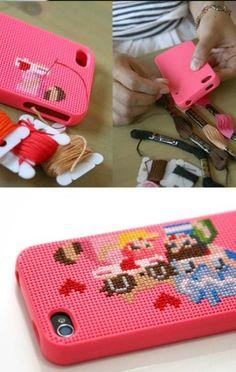 #DIY #Christmas #Gift: Cover per Smartphone: 6 Super-Idee per Farla tu! By www.lunadeicreativi.com