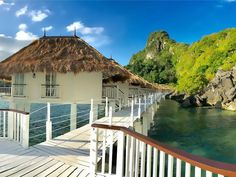 El Nido Lagen Island Resort, Palawan, Philippines — beaches, booze, and bungalows Philippines Palawan, Philippines Travel, Great Falls Montana, Palawan Island, Puerto Princesa, Overwater Bungalows, Romantic Vacations, Beaches In The World, Island Resort