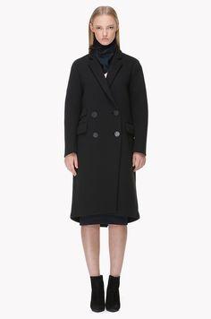 Neoprene double coat