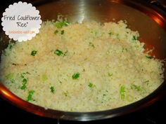 """Fried Cauliflower """"Rice"""" {Paleo Challenge} 