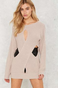 Asilio Return to Form Cutout Sweater - What's New : Clothes