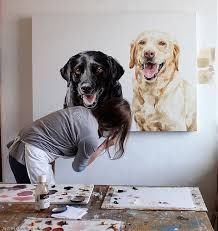 Pet Portrait, Dog Portrait, Animal Art, Justine Osborne