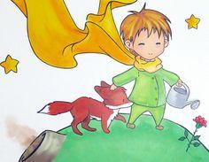 Décoration fresque le petit prince