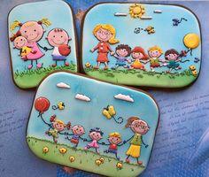 Пряничные открытки на выпускной в Садик