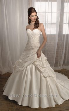 Princess wedding dress.....WOW!!! Go to the website and look at this one. Mori Lee dress. Very pretty