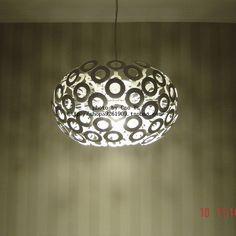 2016 Schorsing Armatuur Lamparas Hanglampen Moderne Korte Witte Paardebloem Hanglamp Gepersonaliseerde Cirkel Slaapkamer Lamp