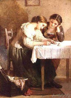 Henry Le Jeune - The Love Letter, 1871