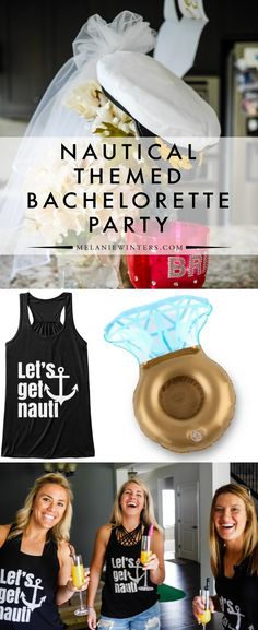 A few key accessories are all it takes to execute a nautical themed bachelorette party. Check out our favorites! A few key accessories are all it takes to execute a nautical themed bachelorette party. Check out our favorites! Bachelorette Cruise, Nautical Bachelorette Party, Bachelorette Party Planning, Nautical Party, Nautical Wedding, Bachlorette Party Themes, Party Favors, Key, Party Ideas
