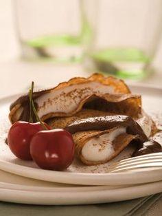 Crepe de Chocolate com Aveia Diet