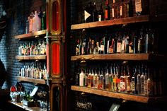 Back Bar Liquor Display   Back Bar Lineup