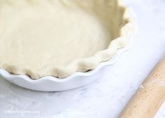 Easy pie crust recipe -perfect for beginners and turns out every time!