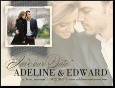 Opaque Dream:Almond destination wedding save the date