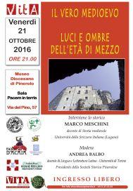 """MedioEvo Weblog: """"Luci e ombre dell'Età di Mezzo"""" a Pinerolo (TO)"""