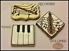images of musical cookies | visit pinterest com