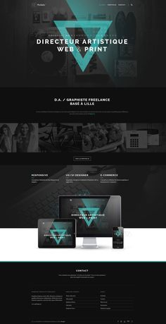 Aujourd'hui nous vous proposons une sélection de web design…