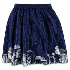 The Her Universe Star Wars Galaxy Skirt Completes The Outfit