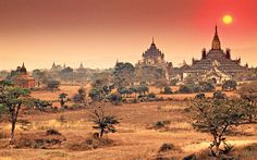 Myanmar: Bagan. seems like it's quite tricky to get there. Need more reading up and planning.