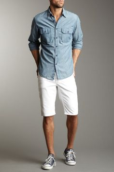 Stitch's Men  Texas Corduroy Short