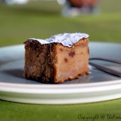 Belgian bread pudding.