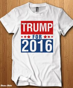 0f4c1c87 Items similar to Donald Trump Election 2016 T Shirt Political Tee President  Democrat Republican Politics Made In The USA Voting Gifts Vote For Anti  Hillary ...