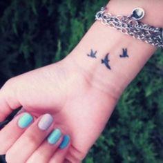 Tatuaje en la muñeca