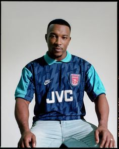 Ashley Walters Interview: The Lessons of Levelling Up Classic Football Shirts, Vintage Football Shirts, Vintage Jerseys, Jersey Fashion, Sport Fashion, Football Jerseys, Football Kits, Football Stuff, Sport Shirt Design