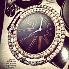 Chopard, as seen in the magazine...