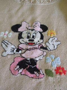 golfino bimba maglia cotone lana ricamato, by maglieria magica, 47,50 € su misshobby.com
