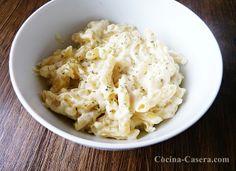 Macarrones con salsa de mostaza. Recetas de Pasta http://www.cocina-casera.com/2013/03/macarrones-con-salsa-de-mostaza-recetas.html Vía: @cocinacasera1
