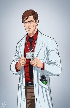 Dr. Simon Hurt (Earth-27) commission by phil-cho.deviantart.com on @DeviantArt