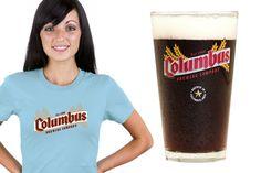Columbus Brewing Company Glassware & T-Shirt