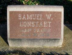 Samuel Walker Constant (1843-1938) - Find A Grave Memorial Memory Tree, Central Illinois, Grave Memorials, Find A Grave, Photo Location, Photo S, Memories, Memoirs, Souvenirs