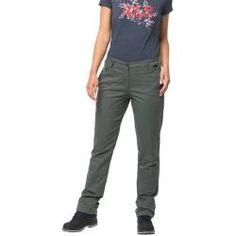 Jack Wolfskin Freizeithose Frauen Arctic Road Pants Women 20 greenish grey Jack Wolfskin