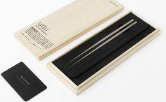 BuyMeDesign.com -  Titanium chopsticks
