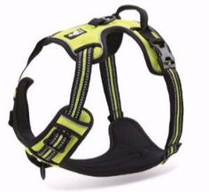 OLizee New Front Range No Pull Dog Harness Outdoor Adventure Reflective Pet Vest with Handle Adjustable Protective Nylon Walking Pet Harness Variety of Sizes and Colors,Green XS Nylons, Large Dogs, Small Dogs, Front Range, Dog Vest, Large Animals, Service Dogs, Dog Harness, Dog Accessories