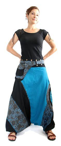 Harem Pants Aladdin with prints Afghani Alibaba Pants