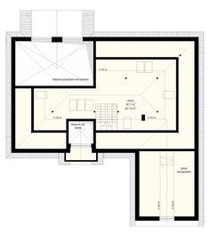 Projekt domu Willa parkowa 3 - rzut strychu